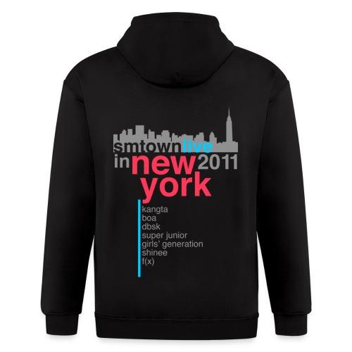 [KOR] SMTown Live in New York 2011 (V.2) - Men's Zip Hoodie
