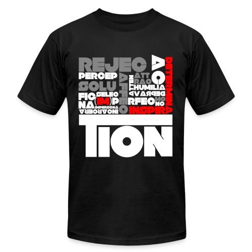 ...tion. - Men's Fine Jersey T-Shirt