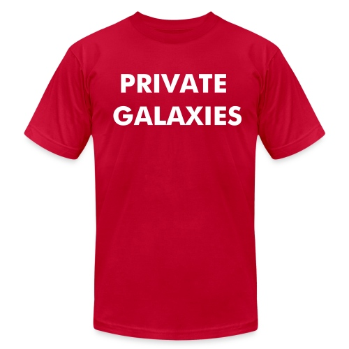 Private Galaxies  - Men's  Jersey T-Shirt