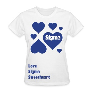Lots of Love Sigma Sweet - Women's T-Shirt