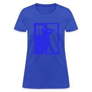 The Fiddling Doctor Blue Version - Women's T-Shirt
