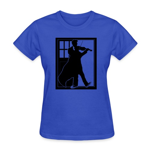 The Fiddling Doctor Black Version - Women's T-Shirt