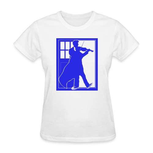 The Fiddling Doctor Blue Version - Women's T-Shirt