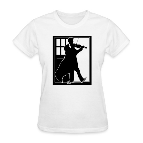 The Fiddling Doctor Black Version - Women's T-Shirt