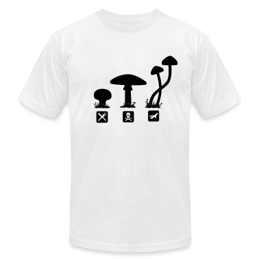 Mushrooms, psilocybin food killing flies T-Shirts