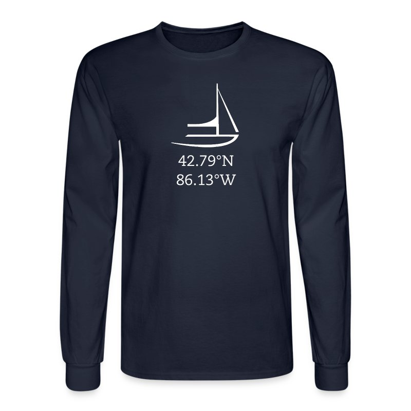 Holland, MI  - Men's Long Sleeve T-Shirt