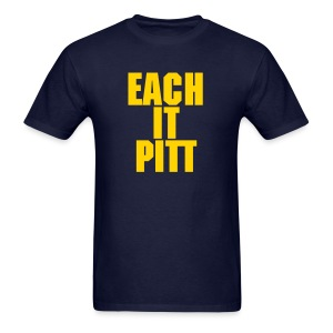 Each It Pitt - PG version of a fav - Men's T-Shirt