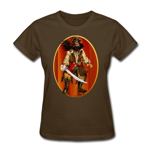 PIRATE Framed-Big 'n Bad - Women's T-Shirt