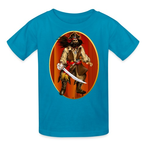 PIRATE Framed-Big 'n Bad - Kids' T-Shirt