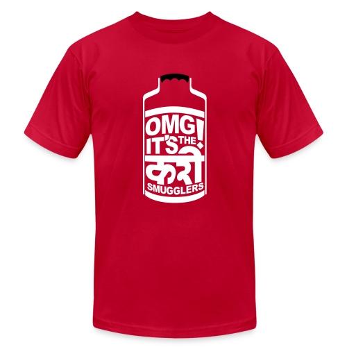 Men's Dabba - Orange - Men's Fine Jersey T-Shirt
