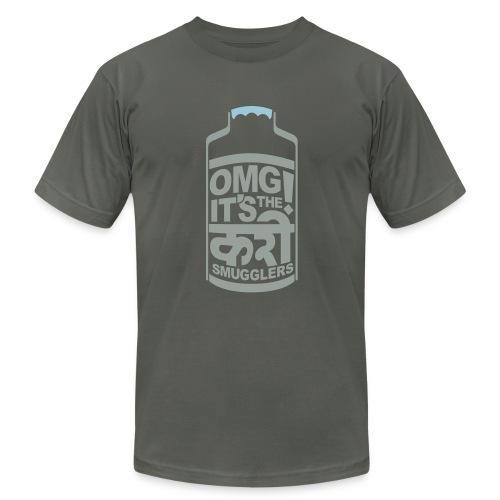 Men's Dabba - Asphalt - Men's Fine Jersey T-Shirt