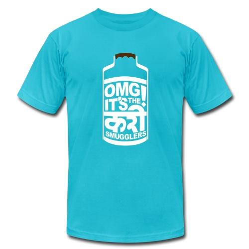 Men's Dabba - Blue - Men's Fine Jersey T-Shirt