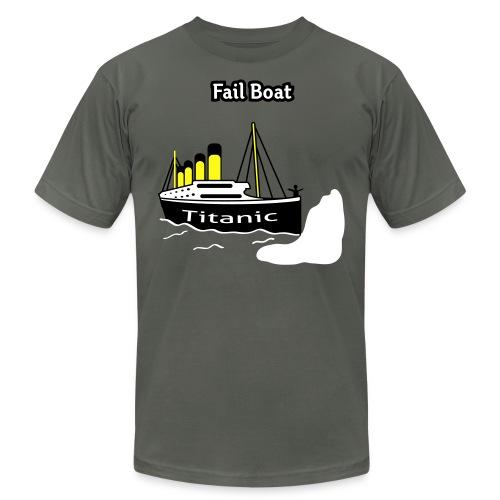 Fail Boat - The Titanic - Men's T-Shirt - Men's Fine Jersey T-Shirt