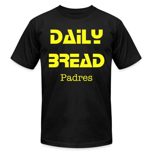 DailyBread Padres T - Men's Fine Jersey T-Shirt