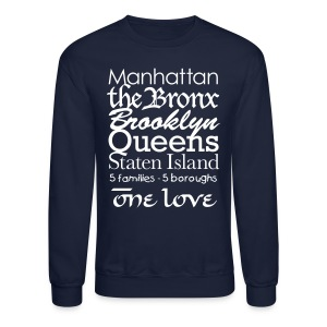 NYC One Love - Crewneck Sweatshirt
