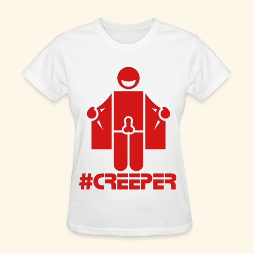 Team Thizzlam #Creeper #A - Women's T-Shirt