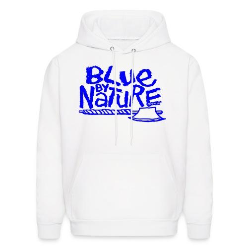 Blue by Nature Hoodie (blue) - Men's Hoodie