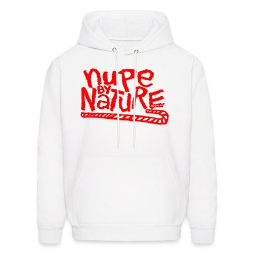 Nupe by Nature Hoodie (red) - Men's Hoodie