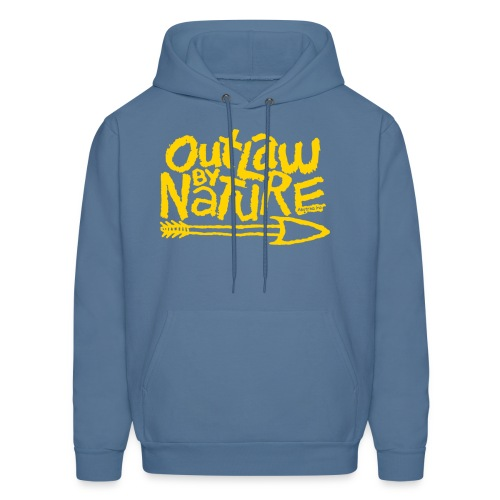 Outlaw by Nature Hoodie (gold) - Men's Hoodie