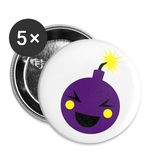 Bomb Pin - Buttons small 1'' (5-pack)