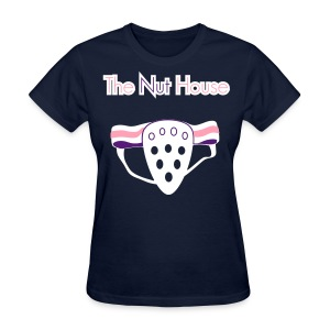 The Nut House - Jockstrap Athletic Supporter - Womens T-Shirt - Women's T-Shirt