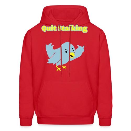 Quit Stalking - Twitter Parody - Men's Hoody - Men's Hoodie