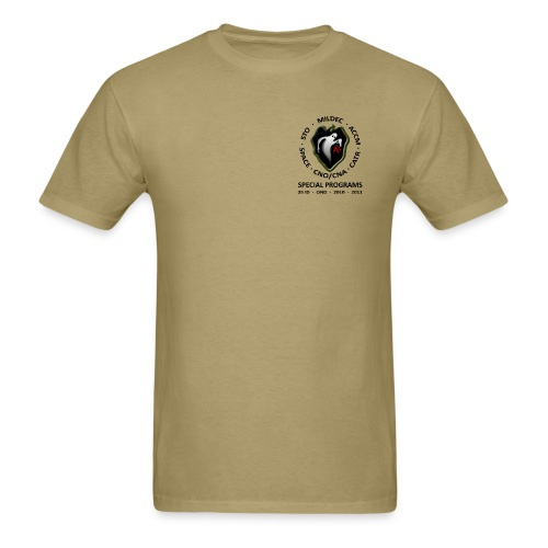 Special Programs 25ID Men's Tan Shirt - Men's T-Shirt