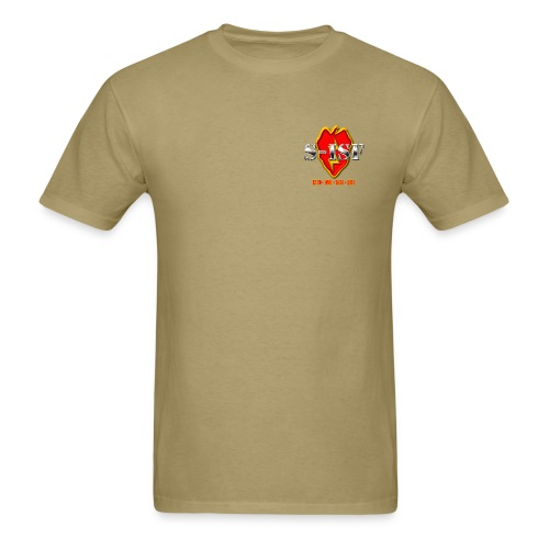 S-ISF LOE Men's Tan Shirt - Men's T-Shirt