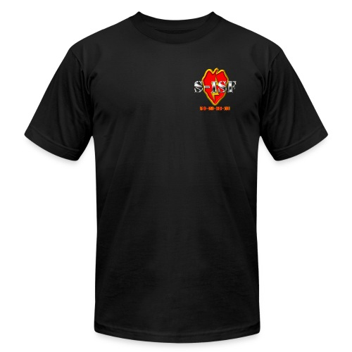S-ISF LOE Men's Black Shirt - Men's Fine Jersey T-Shirt