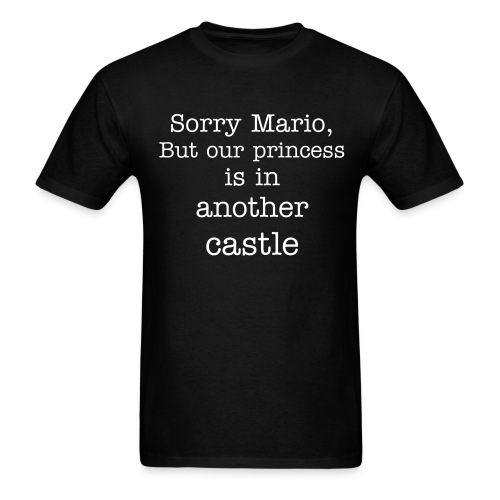 Sorry Mario - Men's T-Shirt