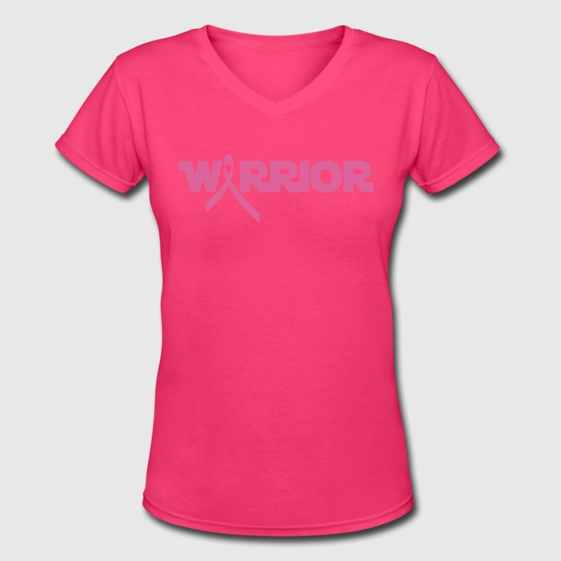 Pink Ribbon Breast Cancer Warrior T-Shirt | Spreadshirt