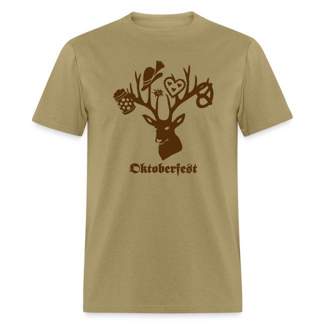 t-shirt oktoberfest bavaria munich germany stag party beer pretzel edelweiss T-Shirts
