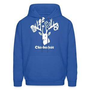 t-shirt oktoberfest bavaria munich germany stag party beer pretzel edelweiss T-Shirts - Men's Hoodie