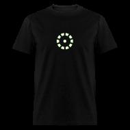 T-Shirts ~ Men's T-Shirt ~ Iron Man Glow-In-The-Dark Arc Reactor Costume T-Shirt