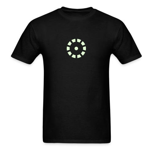 IRON MAN GLOW-IN-THE-DARK Arc Reactor Costume T-Shirt - Men's T-Shirt