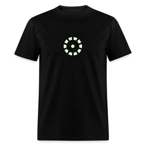 IRON MAN GLOW-IN-THE-DARK Arc Reactor Costume T-Shirt - Men's T-Shirt