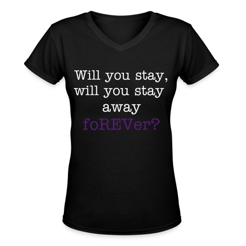 So Far Away Women's Tee. - Women's V-Neck T-Shirt
