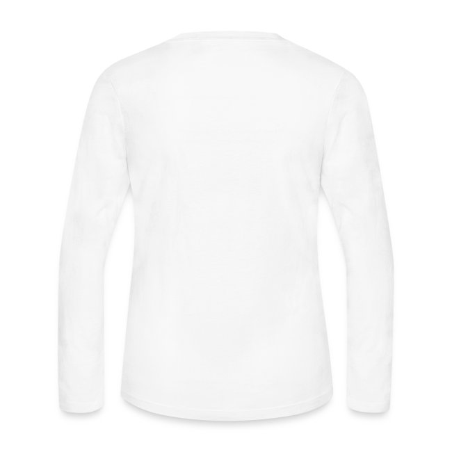 It's not the length, it's the girth - Ladies long sleeve.