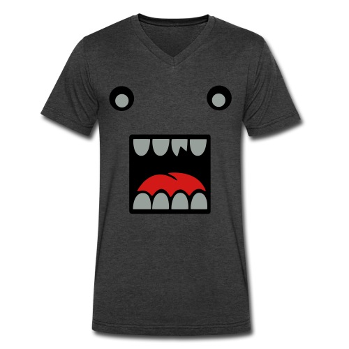 Monster head - Men's V-Neck T-Shirt by Canvas