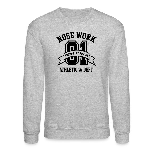 Nose Work Athletic Dept.