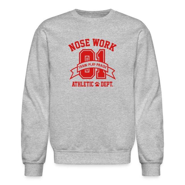 Nose Work Athletic Dept.