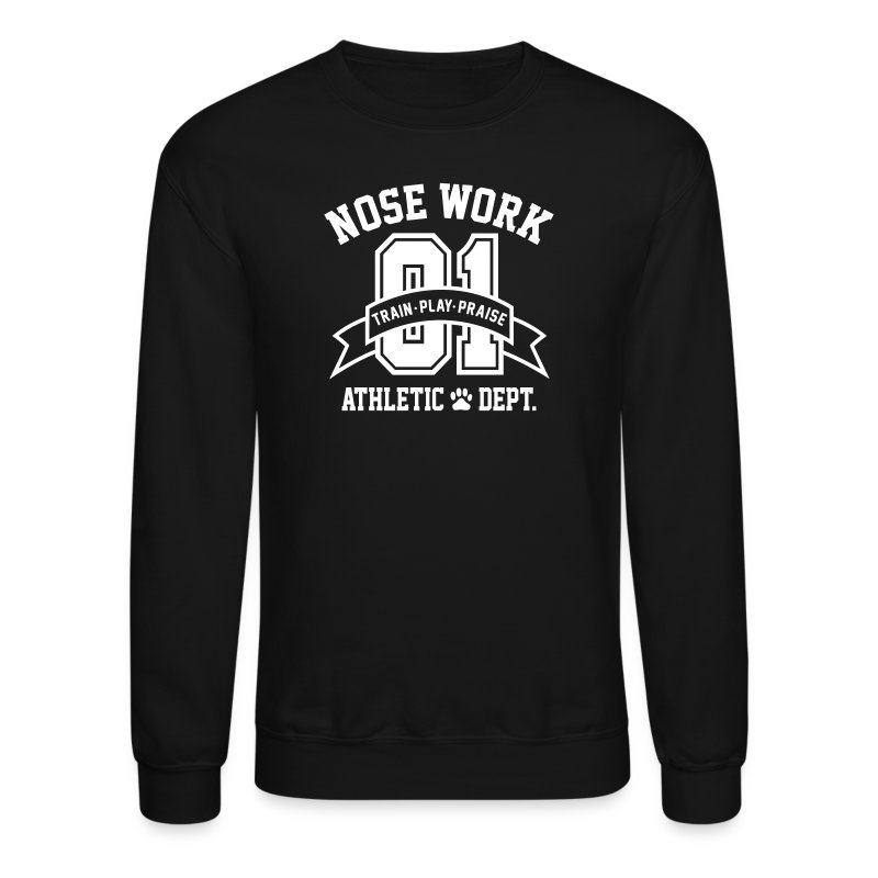 Nose Work Athletic Dept. - Crewneck Sweatshirt