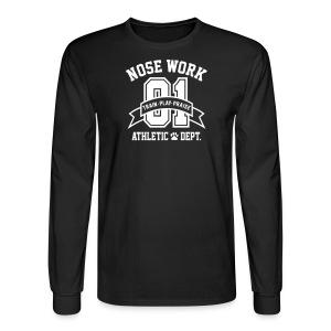 Nose Work Athletic Dept. - Men's Long Sleeve T-Shirt