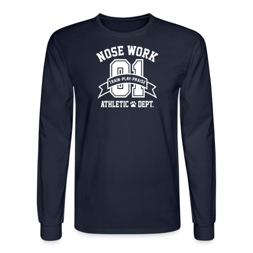 Nose Work Athletic Dept. - Men's Long Sleeve T-Shirt