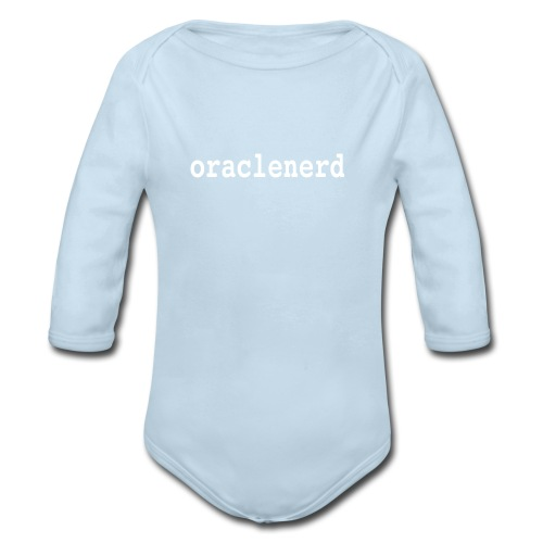 Baby Long Sleeve ORACLENERD - Organic Long Sleeve Baby Bodysuit