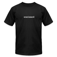 T-Shirts ~ Men's T-Shirt by American Apparel ~ LOWER(ORACLENERD)