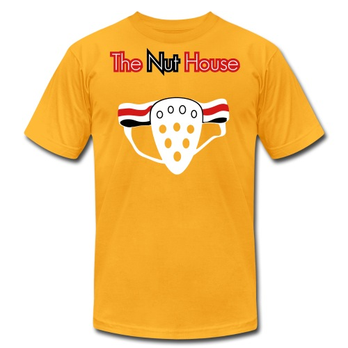 The Nut House - Jockstrap Athletic Supporter - Mens T-Shirt - Men's Fine Jersey T-Shirt