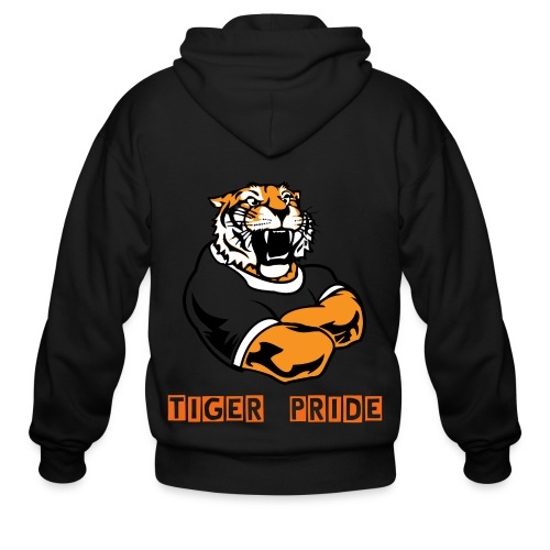 Tiger Pride Sweat Shirt - Men's Zip Hoodie