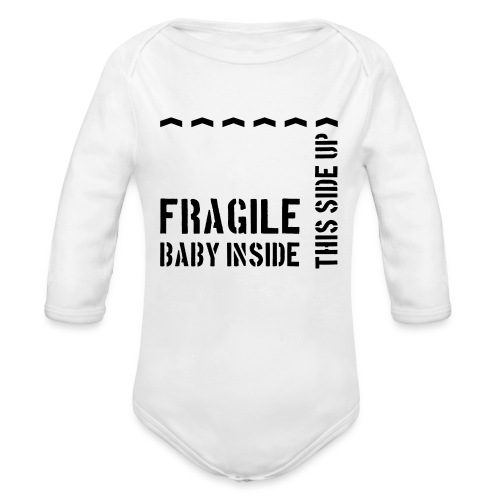 Ship The Baby - Organic Long Sleeve Baby Bodysuit