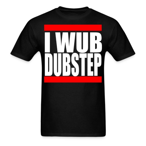 I Wub Dubstep Men's T-Shirt - Men's T-Shirt